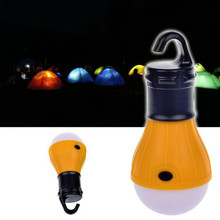 Soft Light Outdoor Hanging Portable LED Camping Tent Light Bulb Fishing Lantern Lamp