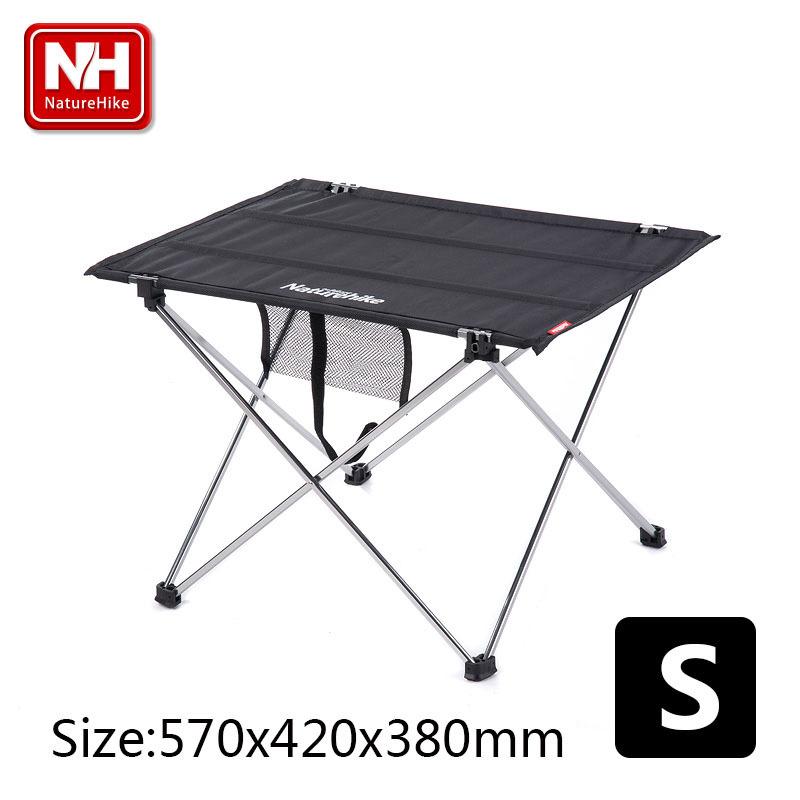 NatureHike-Brand Hot Fashion S Size Casual Multifunctional Light Weight Outdoor Aluminum Folding Picnic Table(China (Mainland))