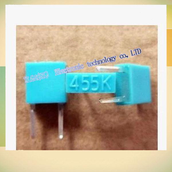 New Original Ceramic Resonators 455K 2-pin DIP electronic components digital accessoriesFree shipping(China (Mainland))