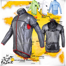 2016 Cycling Raincoat Transparent Soft Reflective Bicycle Jersey Dust Coat Bike Jacket Rain Coat Windbreaker Waterproof