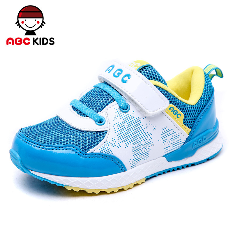ABC KIDS Girls Boys Unisex Shoes 2015 Children Sneakers Kids Breathable Mesh Sport Running  -  shoes store