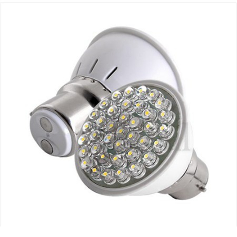 Lowest Price High Quality B22 38 LED 1.5-2.5W Pure White Spot Home High Power Light Lamp Bulb 110-240V New(China (Mainland))