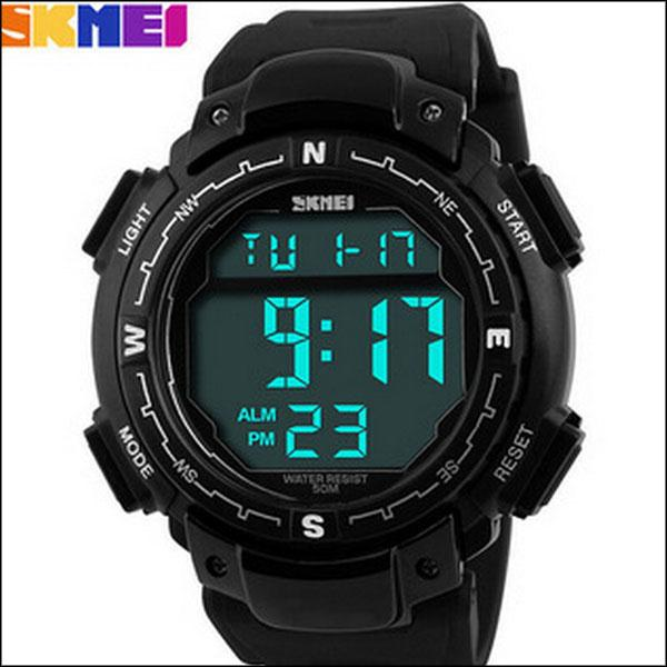 BY DHL OR EMS 200PCS New arriver! Relogios SKMEI led digital watch sports watches 1067 military men s-shock(China (Mainland))