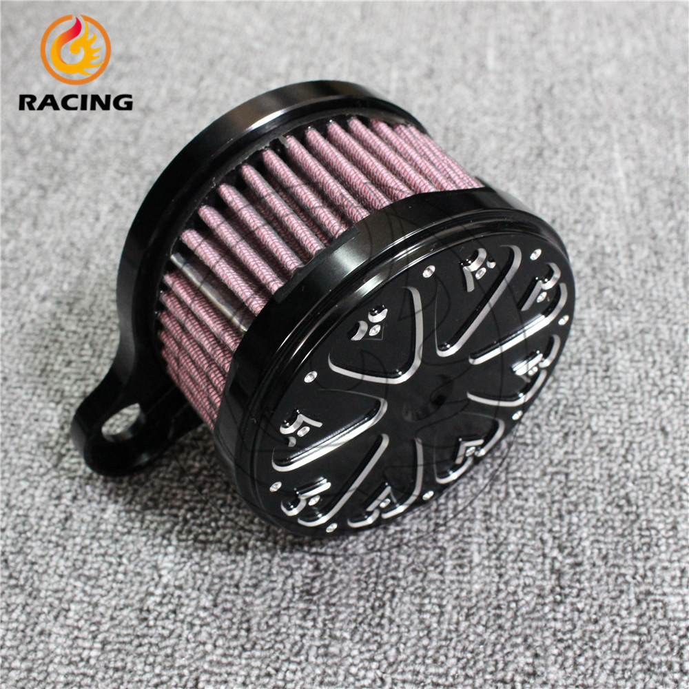 new type motorcycle accessories Air Cleaner Intake Filter for Harley 04-12 year Sportster XL 883 1200<br><br>Aliexpress