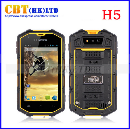 """2014 New Version Cool waterproof Phone 3G Smartphone 4.0"""" Capacitive Scr"""