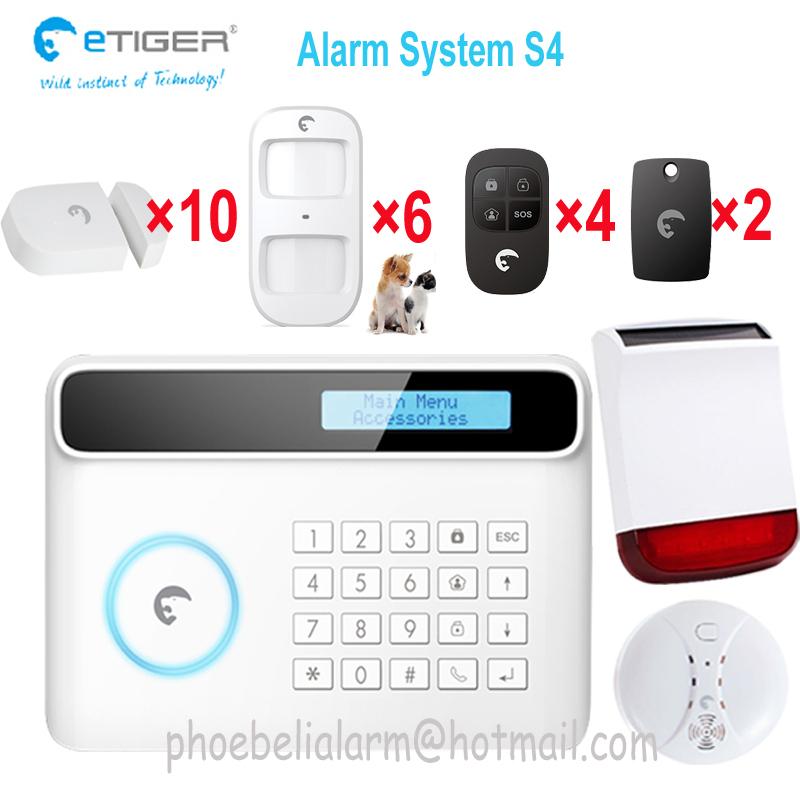 Здесь можно купить  GSM SMS Home intrusion Security Alarm System Detector Sensor shop house office  alarm security  Безопасность и защита