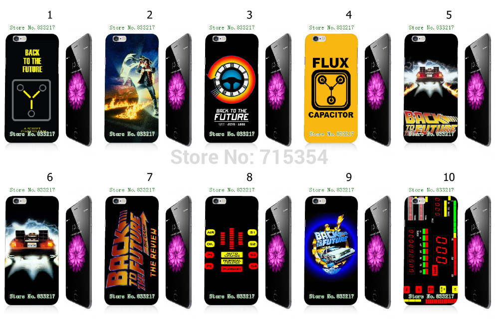 Hot 1s Back future hard white case cover 4.7 inch iphone 6 +cases - casestore store