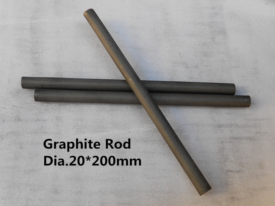FREE SHIPPING Dia.20*200mm Graphite rod from lantern battery / Carbon Graphite electrode rod(China (Mainland))