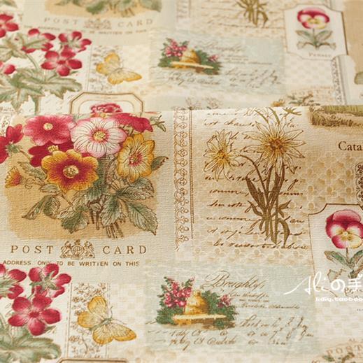 Fluid cloth handmade diy curtain fabric home sofa table cloth fabric rose(China (Mainland))