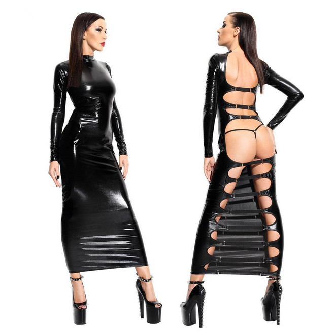 Find black leather look dress at ShopStyle. Shop the latest collection of black leather look dress from the most popular stores - all in one place.