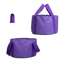 2016 Portable Travel Bag Folding Face Foot Basin Multifunctional Waterproof Barrel Washing Bucket Fishing Tub Travel Accessories(China (Mainland))