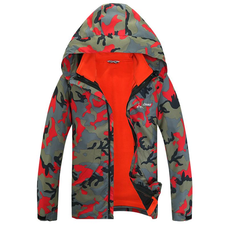 Dropshipping 2015 Famous Brand Plus Size 5XL Outdoor Sportswear Coat Men Windproof Waterproof Hiking Climbing mountain jacket(China (Mainland))