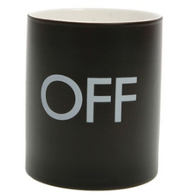 OFF/ON Color Changing Mug CUP