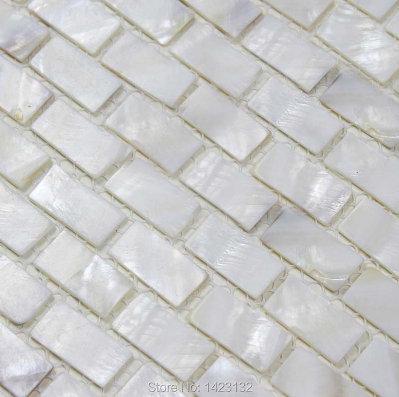 BACKSPLASH DIY Shell Mother of Pearl Mesh