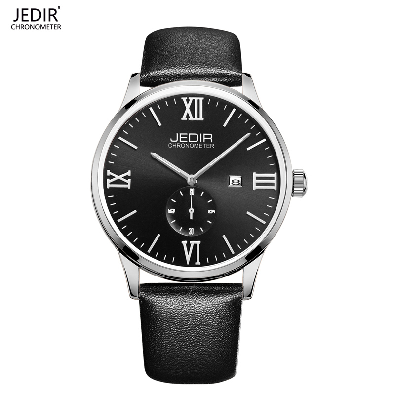 JEDIR 2016 brand luxury Genuine leather strap waterproof Climbers outdoor sports watches men's watches luminous pointer(China (Mainland))