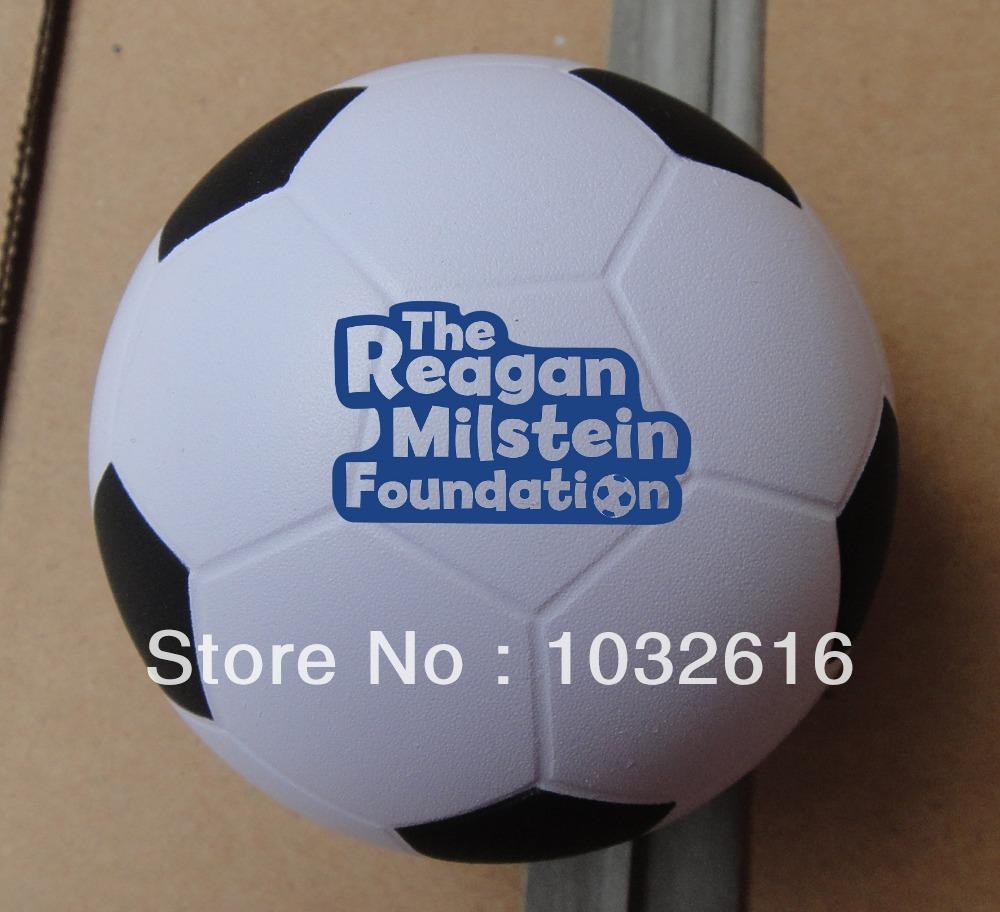 Football PU stress ball stock(China (Mainland))