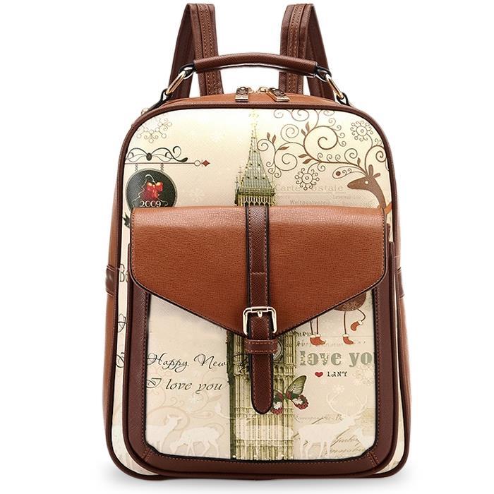 Рюкзак Brand New , PU mochila RHNWB0173 рюкзак new brand closue pu mochila 39793990870zl