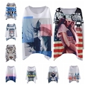 New Arrival Fashion Full Sleeves Print T Shirt Woman O Neck Cute Super Comfor Casual Loose