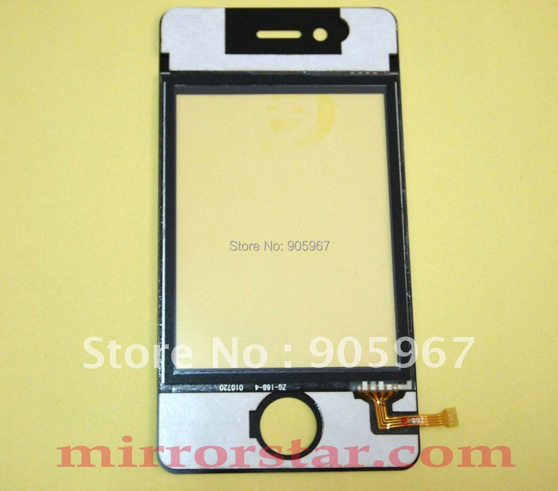 10 * New Touch screen Touch Panel Glass Lens Disitizer for i68 4G Mobile Phone(China (Mainland))