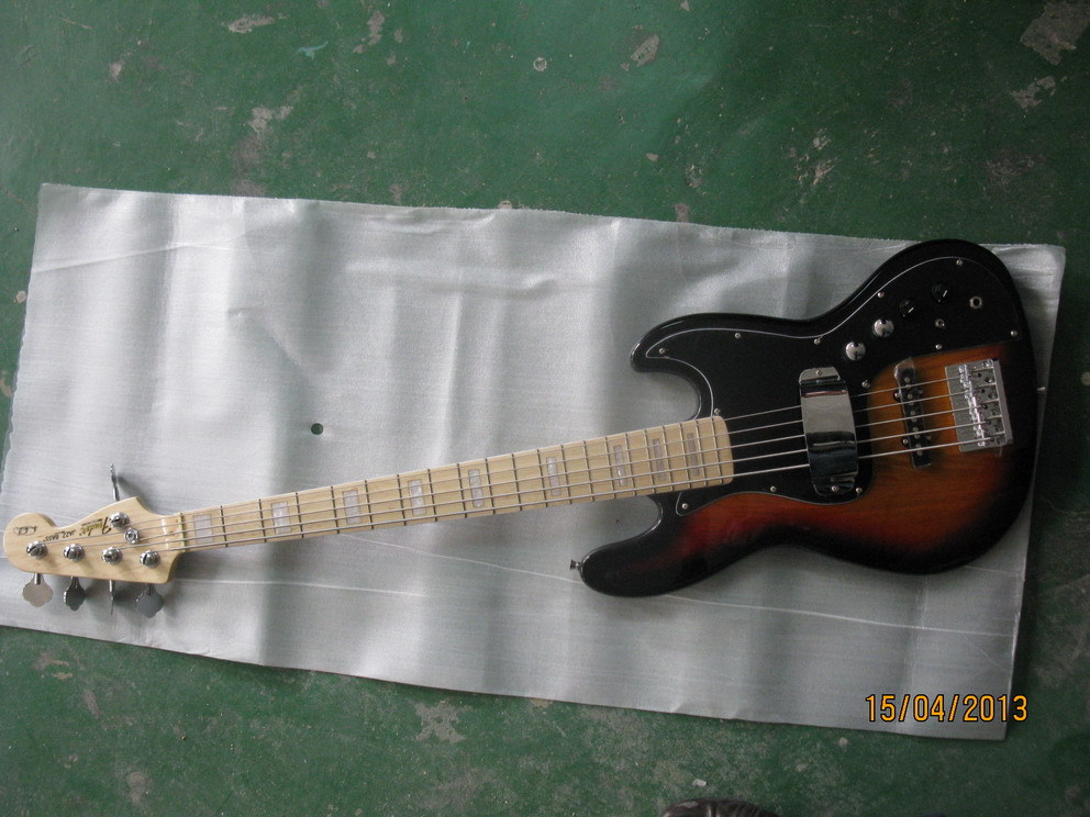 FD standard TSB color 5 string jazz bass with pickup cover(China (Mainland))