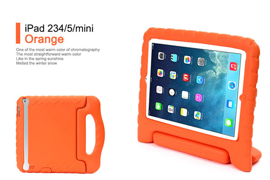 New Kids Shockproof Safe Handle Foam Case For Apple iPad 2 3 4 Cover For Apple
