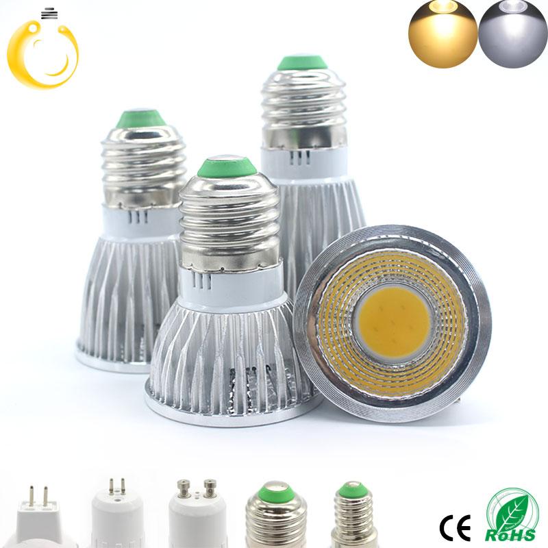 1pcs Super Bright 15W 12W 9W LED Bulb Spot Light Lamp AC110V 220V Dimmable E27 E14 GU10 MR16 Recessed Lighting Warm Cold White(China (Mainland))
