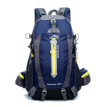 Free shipping high-quality Waterproof Nylon sports backpack Camping Hiking riding travel backpack daily school backpack 1346-5