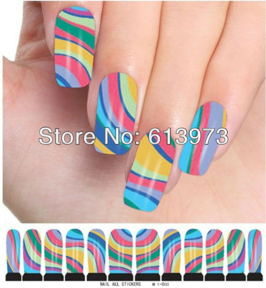 M1-003 - 10sheets/LOT + New water decals nail stickers tattoo & Retails Coner Love store