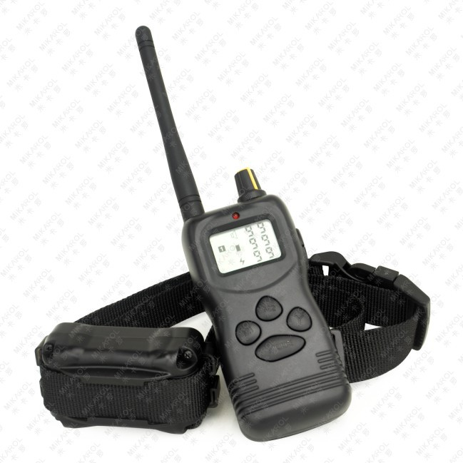 1000M Bark Control Remote Dog Trainer Electronic Collar with Static & Vibration(China (Mainland))
