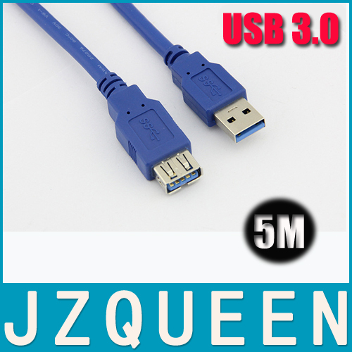 High Speed 5M USB 3.0 External Data Cable Oxygen-Free Copper Wire Extension Cord(China (Mainland))