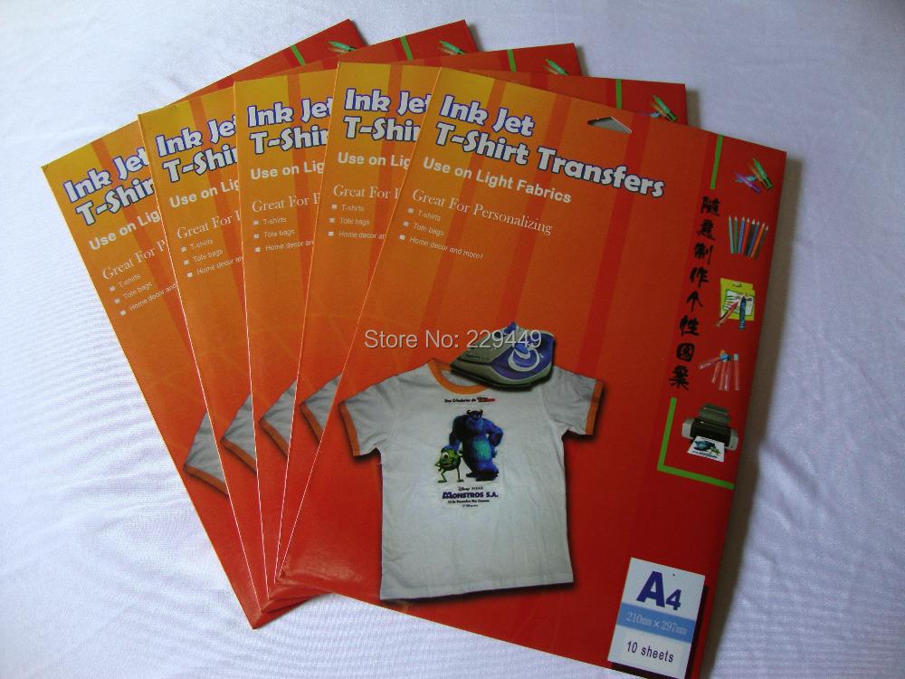 Promoci n de papel de transferencia de calor transparente - Papel de transferencia textil ...