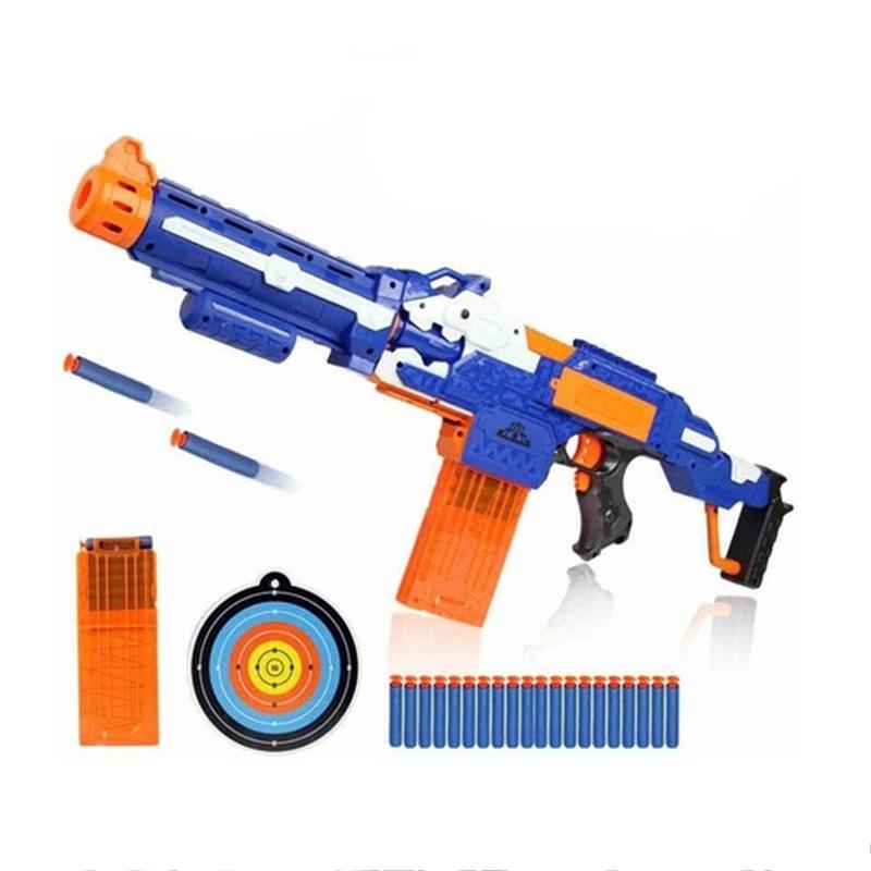 Gun Electric Toy Gun Soft Bullet Toy Guns Sniper Rifle Plastic Ne-rf Guns Outdoor Toys Kids Children's Birthday Gift(China (Mainland))