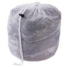 Laundry Bag Clothes Washing Machine Laundry Bra Aid Lingerie Mesh Net Wash Bag draw cord YL872666(China (Mainland))