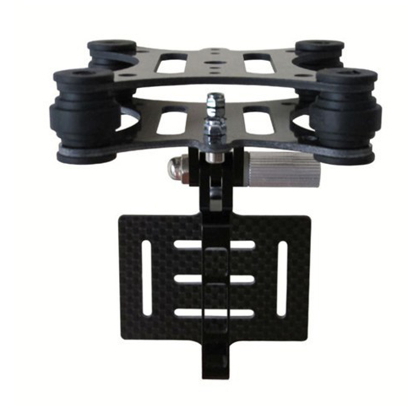 the newest version GoPro Hero 2 3+ Anti-Vibration Camera Mount Gimbal For DJI Phantom Walkera QR X350(China (Mainland))