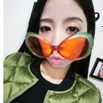 Funny big frame party glasses women take photo shooting prop gift Favors Holiday Event&Party Supplies sunglasses(China (Mainland))