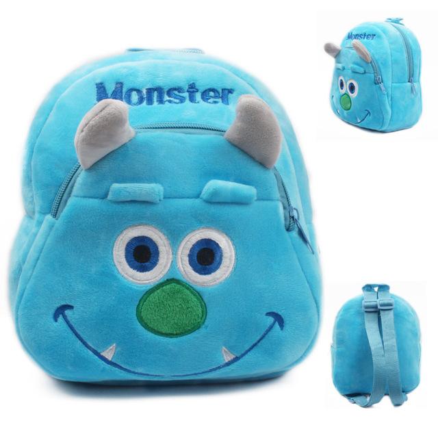 2015 синий монстр сумка плюшевые шул дети рюкзак прекрасный дизайн мини-сумки для ...
