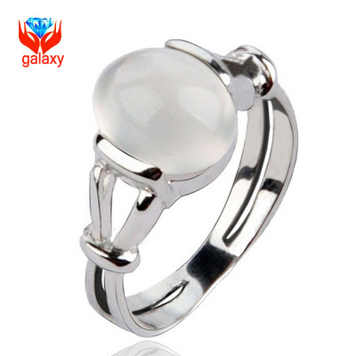 Big Promotion!!! 2015 New Hot Selling Twilight Bella Natural Moonstone Opal Wedding Ring For Women RING SIZE 6 7 8 9 10 YH666(China (Mainland))