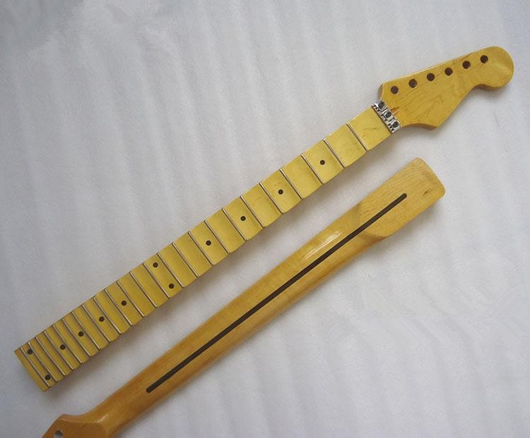 21-22-Fret-maple-Electric-Guitar-Neck-Guitar-Parts-musical-instruments