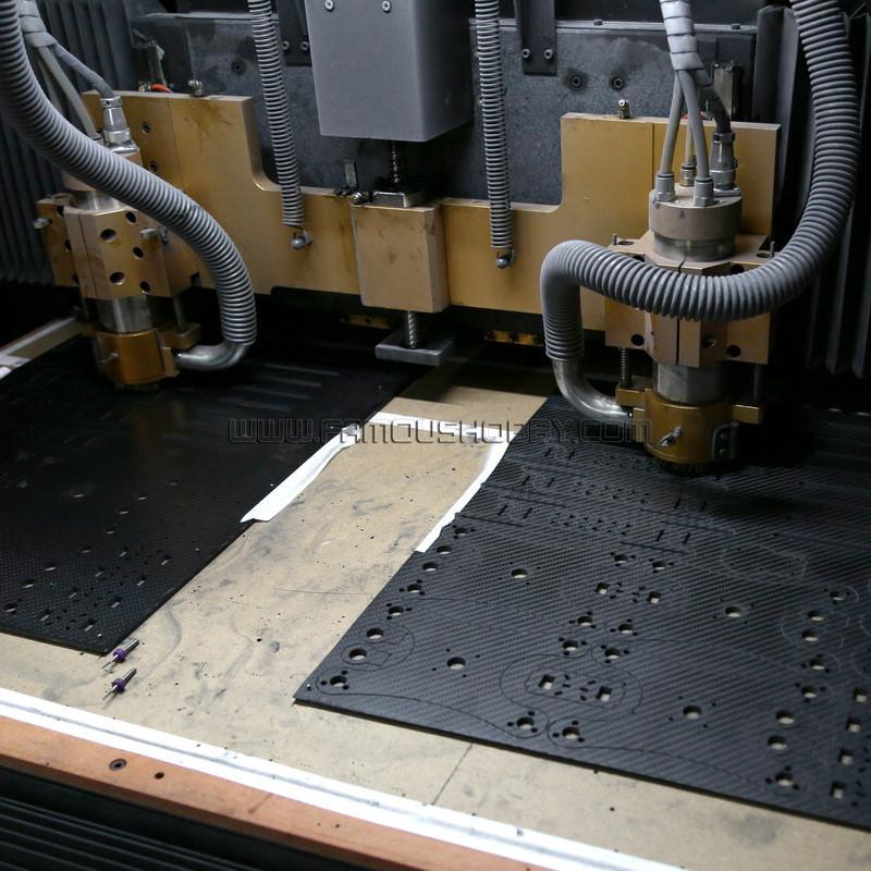 Carbon Fiber CNC machine 2