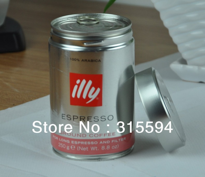 Free shipping ILLY coffee Powder Medium Roast 250g red can Certified Goods