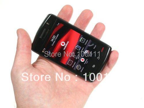 FREE SHIPPING 2pcs/lot & 100% original blackberry storm 9520 mobile phone WIFI + TOUCH SCREEN(Hong Kong)