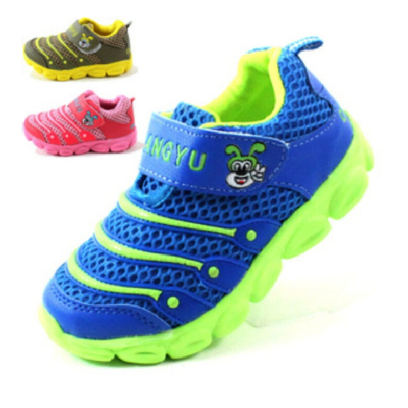 2015 Spring Autumn New Children's breathable Shoes For Boys Girls Free Running Slip-on Sneakers Baby Kids Toddlers Sports Shoes(China (Mainland))