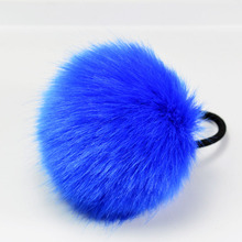 Korean Artificial Rabbit Fur Ball Elastic Hair Ties Bands Rope Ponytail Holders Girls Hair Clip Headband Hair Accessories Gift(China (Mainland))