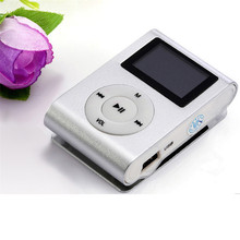 Superior  Mini USB Clip MP3 Player LCD Screen Support 32GB Micro SD TF Card July24
