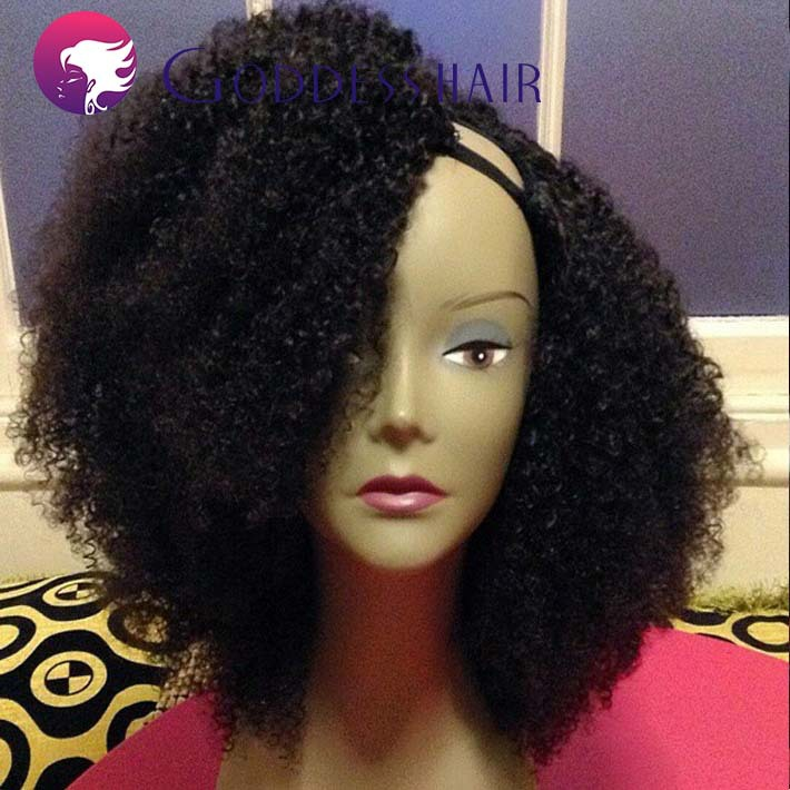 Afro Kinky Curly U Part Wigs 50