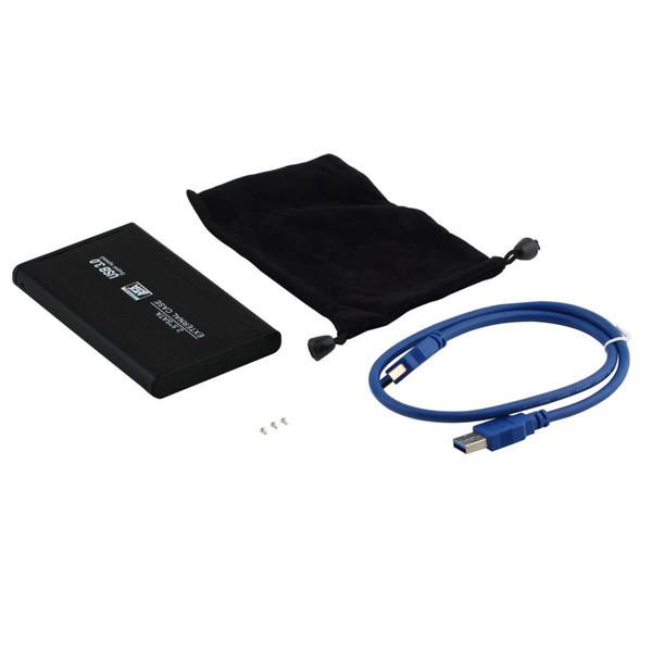 """1set Jumping Price 2.5"""" USB 3.0 HDD Case Hard Drive SATA External Enclosure Box New Free Shipping(China (Mainland))"""