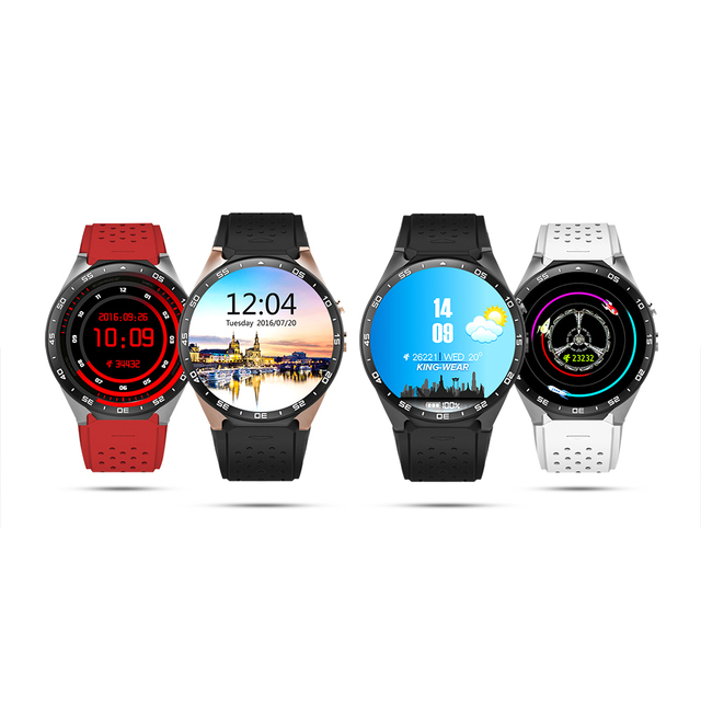 100% Оригинал KW88 3 Г WI-FI GPS Smart Watch Android 5.1 OS MTK6580 ПРОЦЕССОРА 1.39 ''Экран 2.0MP Камеры Smartwatch для iphone Andorid