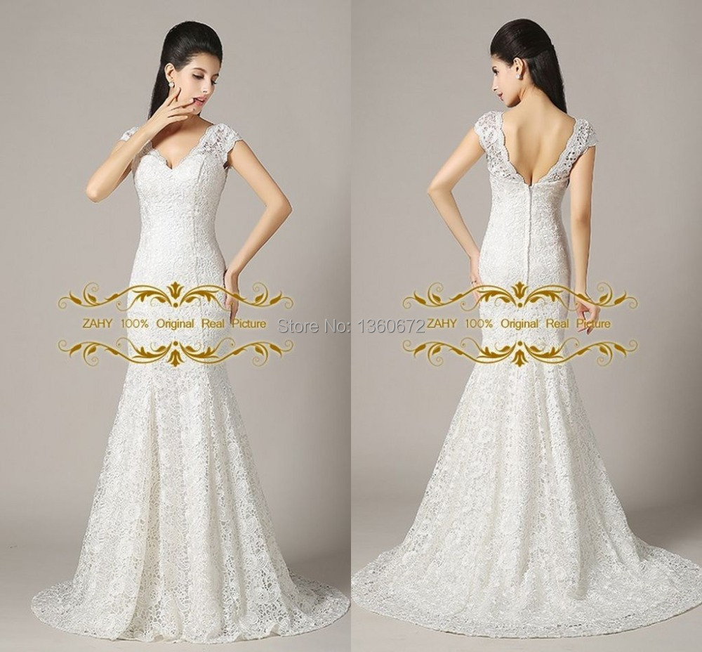 ivory just picture color lace wedding dresses 2016 zahy