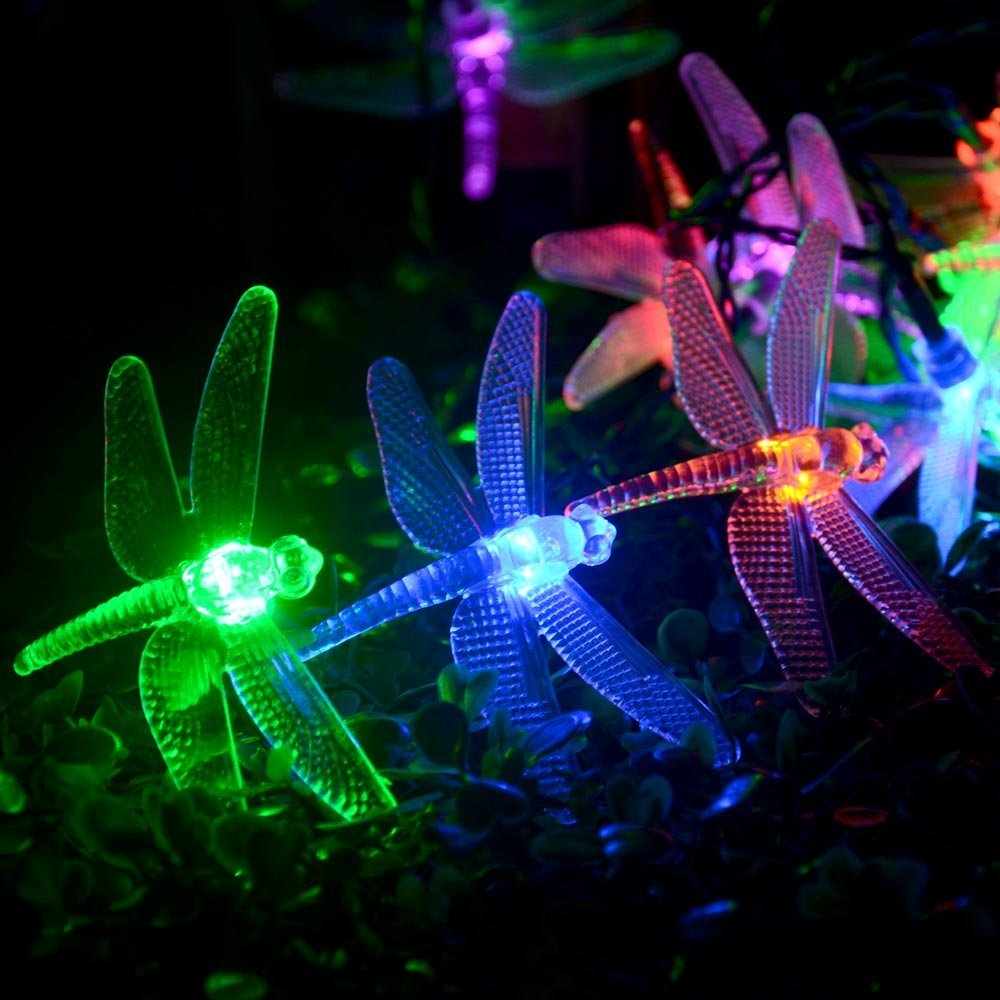 Philips Led String Lights Dragonfly : Battery Operated Dragonfly String Lights 20 LED 2m Fairy Lighting Decor 8 Modes Automatic Timer ...