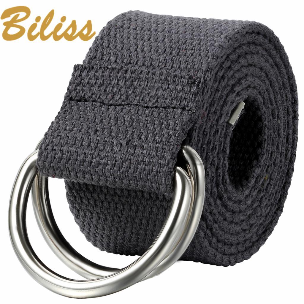 Hot Men Canvas Outdoor Belt Military Equipment Cinturon Western Strap Men's Belts Double Buckle Men Cintos 105cm(China (Mainland))